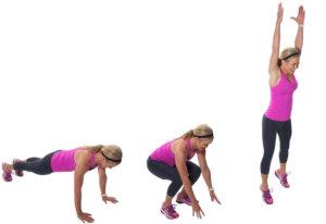 Жиросжигающая тренировка за 5 минут