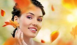 Домашний уход за кожей лица осенью